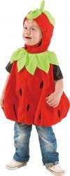 Karneval Kostüm Baby Erdbeere