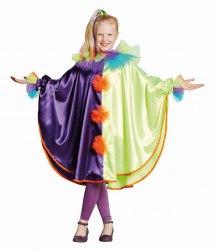 Karneval Kinder Cape Clown