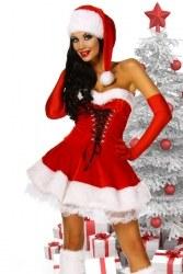 Weihnachten Damen Kostüm Weihnachtskleid