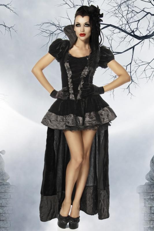 karneval halloween damen kost m vampir velvet vampire. Black Bedroom Furniture Sets. Home Design Ideas