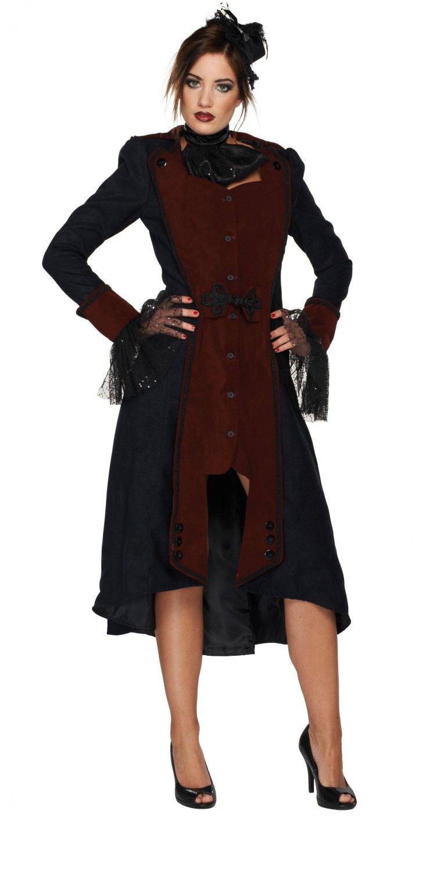 karneval halloween damen kost m gothic vampir frau. Black Bedroom Furniture Sets. Home Design Ideas