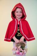 Müller Karneval Kinder Mädchen Cape Rotkäppchen
