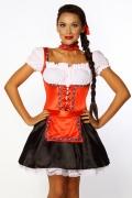 Karneval Damen Kostüm Dirndl Gundel