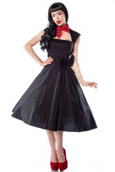 Damen Rockabilly-Kleid Abiballkleid Leonie