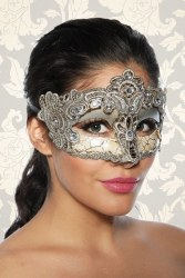 Karneval Damen Maske Antik