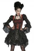 Karneval Halloween Damen Kostüm Edel Vampir