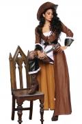 Karneval Damen Kostüm Edel Piratin