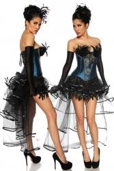 Karneval Damen Volant Rock Burlesque