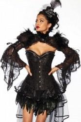 Damen Bolero Gothic