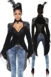 Karneval Damen Gothic Frack