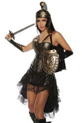 Karneval Damen Kostüm Gladiatorin