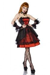 Atixo Damen Kleid Gothic