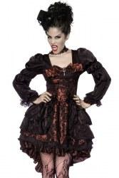 Karneval Damen Kostüm Premium Barock Vampir
