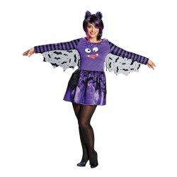 Karneval Halloween Damen Kostüm Funny Fledermaus