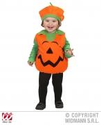 Karneval Halloween Kinder Kostüm Kürbis Puffy Pumpkin