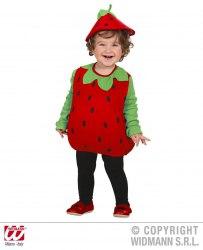 Karneval Baby Kostüm Erdbeere Puffy Strawberry