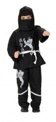 Karneval Jungen Kostüm Black Ninja