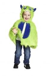 Karneval Kinder Kostüm Kleines Monster Cape