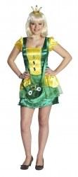 Karneval Damen Kostüm Froschkönigin