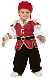 Karneval Baby Kostüm Pirat Kleiner Seeräuber