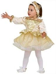 Karneval Baby Kostüm Goldene Prinzessin