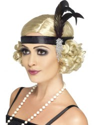 Karneval Charleston Haarband