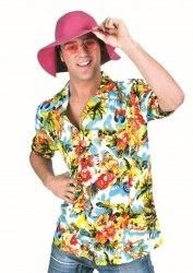 Karneval Herren Hemd Hawai