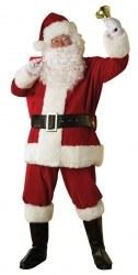 Karneval Herren Kostüm Weihnachtsmann Santa