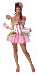 Karneval Damen Kostüm LOLLIPOP
