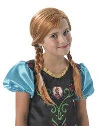 DISNEY Die Eiskönigin Frozen Kinder Perücke Anna