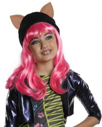 Monster High Karneval Kinder Perücke Howleen 13 Wishes
