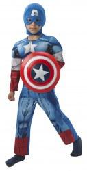 Marvel Avengers Karneval Jungen Kostüm Captain America Deluxe