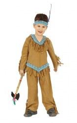 Karneval Jungen Kostüm Indianer Bumi
