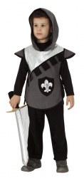 Karneval Jungen Kostüm Silberner Ritter