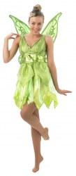 Disney Karneval Damen Kostüm Fee Tinker Bell