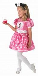 DISNEY Mädchen Kostüm Pink Cupcake Minnie