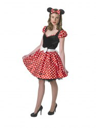 DISNEY Karneval Damen Kostüm Sassy Minnie Mouse