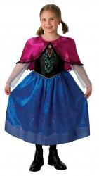 DISNEY Die Eiskönigin Mädchen Kostüm Anna Deluxe