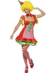 Karneval Damen Kostüm Clown Boo Boo