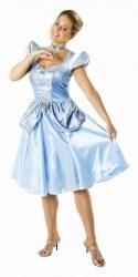 DISNEY Karneval Damen Kostüm Prinzessin Cinderella