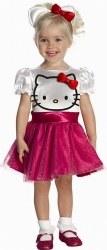 Karneval Mädchen Kostüm Hello Kitty