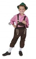 Oktoberfest Karneval Jungen Hemd CHECKERS SHIRT