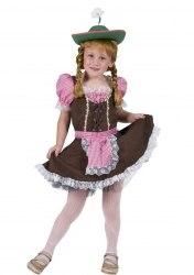 Karneval Mädchen Kostüm Dirndl Tirol