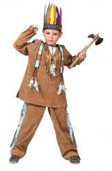 Karneval Jungen Kostüm Indianer Anoki