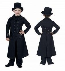 Karneval Halloween Jungen Kostüm Gothic Jacket