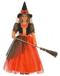 Karneval Mädchen Kostüm Sternen Hexe