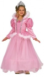 Karneval Mädchen Kostüm Prinzessin Rose