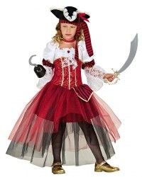 Karneval Mädchen Kostüm Karibische Piratin