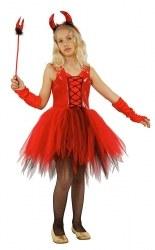 Karneval Mädchen Kostüm Teufel Girl