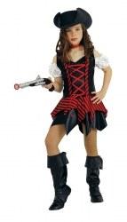 Karneval Mädchen Kostüm Piratin